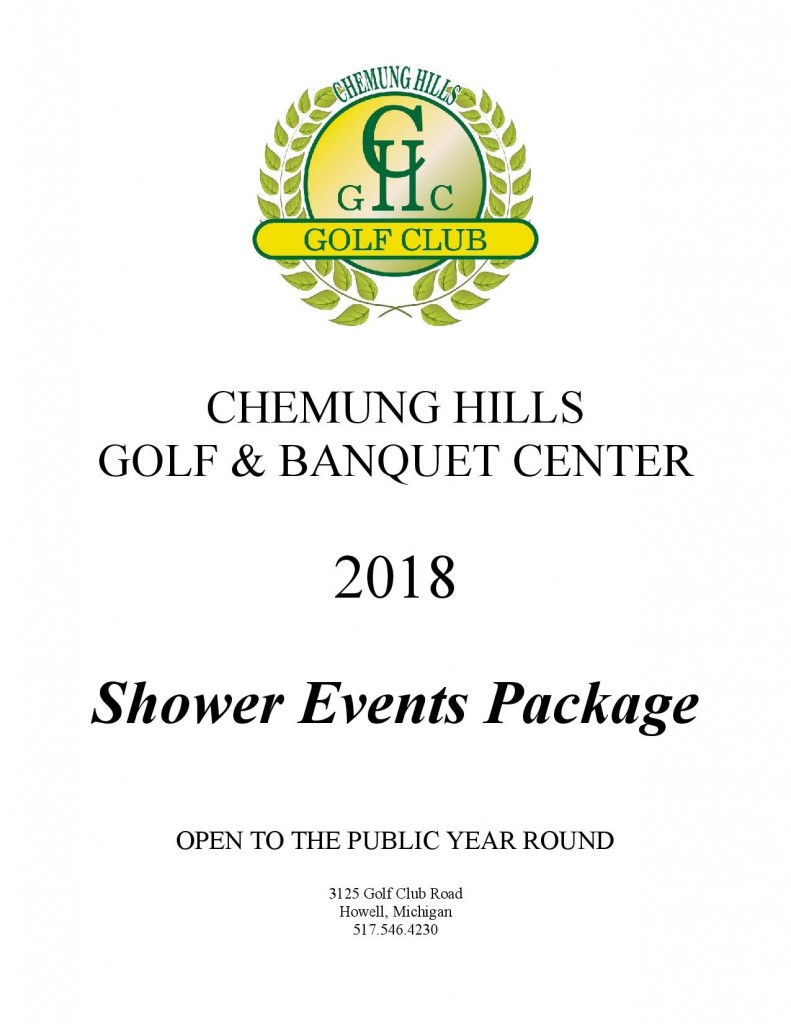 Shower Events Package 2018 Page 1